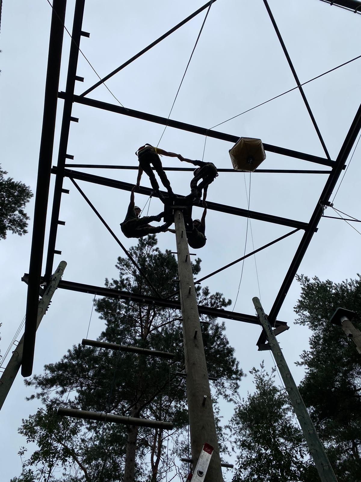 High Ropes Course 2/3 oefeningen
